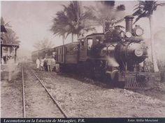 Haciendas En Ponce Puerto Rico | Locomotora usada en la Hacienda Dolores de Peñuela (Plaza de Peñuela ...