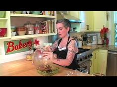 Nanaimo Bars by Sarah Kramer. This recipe is amazing.    For the recipe go to http://www.everydaydish.tv/recipe/sarah-kramers-nanaimo-bars #VeganDessert