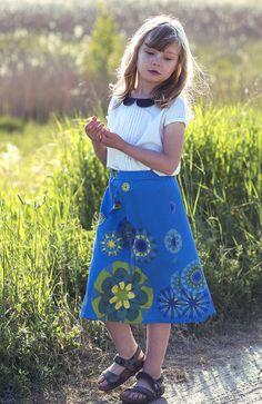 Spódnica ManuEla - trapez. #manushop #manu #kids #fashion #skirts #Wasiuczyńska #ManuEla