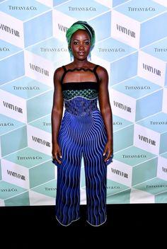 Como se vestir para a festa - íntima - da Lupita Nyong'O - Fashionismo