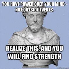 Aurelius on power