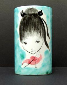 italian girl vase - Google Search