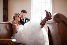 Church wedding picture