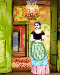FRIDA KAHLO MEXICO Limited Edition Print by MixedMediaMuseum