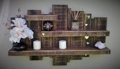 Use Pallet Wood Projects to Create Unique Home Decor Items Unique Home Decor, Home Decor Items, Diy Home Decor, Pallet Home Decor, Wooden Pallet Shelves, Wood Pallets, Pallet Wood, Wood Shelf, Pallet Bench