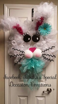 10 Easter Wreath Ideas - Deja Vue Designs