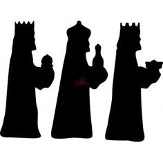 nativity silhouette printable - Google Search