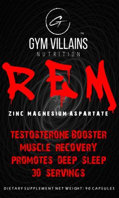 REM- Zinc Magnesium Aspartate 90 Capsules