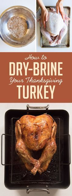 So, go forth and dry-brine your bird this year. Here's a separate post that will show you exactly how to dry brine and make the best-ever Thanksgiving turkey.