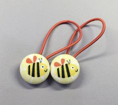 7/8 Size 36 Orange/Yellow/Black Bumble Bee Fabric by RatDogInk