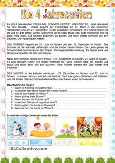 Neue Lesetexte für die 1 bis 6 Klasse  német  Pinterest