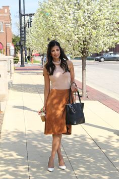 Pretty wrap skirt and bodysuit combo #revolveme