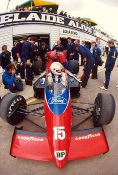 Alan Jones Lola - Ford Adelaide 1986