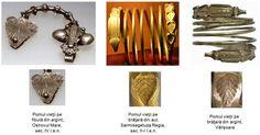 Pomul vieţii reprezentat pe placa de pe corpul fibulelor descoperite la Ostrovul Mare, judeţul Dolj, este asemănător cu cel multiplicat de şapte ori la fiecare capăt al brăţărilor din aur descoperite la Sarmisegetuza Regia, dar şi cu cel reprezentat pe brăţările dacice din argint.
