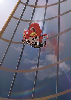 """Chibi Tony Stark - """"Avengers"""" (art by hidingmai) Marvel Comics, Marvel Dc, Tony Stark, Superfamily Avengers, All Avengers, Steve And Tony, Marvel Fan Art, Fanart, Marvel Characters"""