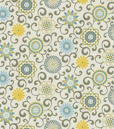 Waverly Modern Essentials Fabric-Pom Pon Play / Spa: home decor print fabric: home decor fabric: fabric: Shop | Joann.com