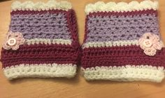 Wrist warmers for the colder months in the office!