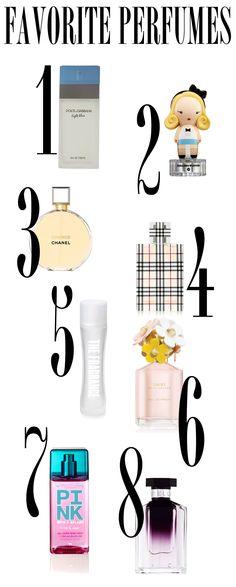 Presentable Blog - Favorite Perfumes