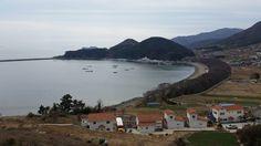 Namhae Island in Gyeongsangnam-do i, german villages.