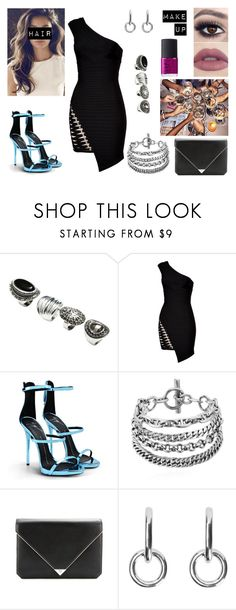 """""""08/05/17"""" by milena-serranista ❤ liked on Polyvore featuring H&M, Hervé Léger, Giuseppe Zanotti, Alexander Wang, Sophie Buhai and NARS Cosmetics"""