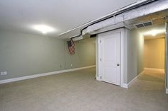 Bathroom and Closet Space in Basement