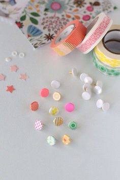 washabi tape covered tacks