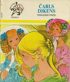 Vintage childrens book cover illustrated by Maria Pascual.  Charles Dickens: English Stories
