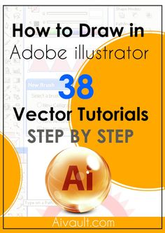 38 Step By Step illustration techniques and Adobe Illustrator Tutorials to Help you Become a Vector Expert - 38 Step By Step Adobe Illustrator Tutorials to Help you Become an Expert in Vector - Learn Illustrator, Adobe Illustrator Tutorials, Photoshop Illustrator, Graphisches Design, Graphic Design Tutorials, Graphic Design Inspiration, Vector Design, Design Trends, Design Projects