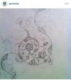 Turkish Art, Driftwood Crafts, Hand Embroidery Patterns, Islamic Art, Pattern Art, Zentangle, Coloring Pages, Oriental, Mandala