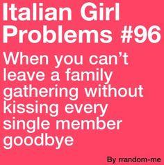 Italian Girl Problems #96