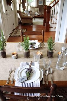Fall-Decorating-Ideas-for-your-Home - FALL tablescape