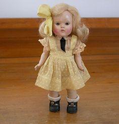 "Vogue 1950-51 Transitional Ginny Strung Doll ~ 7.5"""