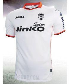 New Valencia Shirt VCF Home Jersey and Orange Valencia Kit by Joma La Liga b27b4eda14803