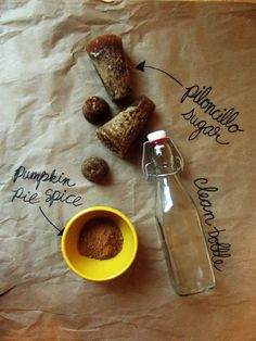 pumpkin spice, homemade syrup, gift ideas, diy, 3 ingredients