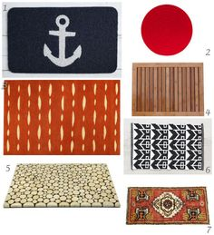 Doormats With Loads of Style: A Case of the Wants (http://blog.hgtv.com/design/2014/03/06/doormat-with-style/?soc=pinterest)