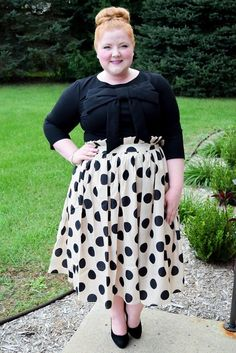 Liz of With Wonder and Whimsy features Dainty Jewell's Signature Bow Top and Promenade Skirt