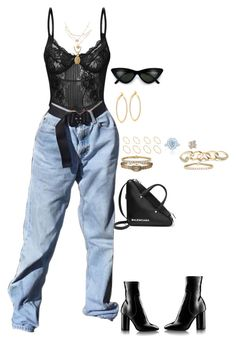 Designer Clothes, Shoes & Bags for Women Airport Fashion, Airport Style, Stage Outfits, Fashion Outfits, Black Clothes, Agent Provocateur, Girls Life, Aesthetic Clothes, Passion For Fashion