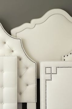 Furniture, Custom Upholstered Beds, Headboards - Calico Corners by Subjects Chosen at Random