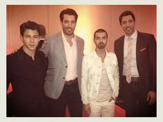 It's official… @MrDrewScott and I have joined the #JonasBrothers. Album coming soon!