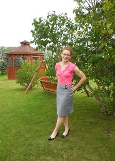 Summer Sunday | A Homespun Country Life; blog post, fashion, style, modest outfit