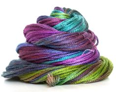 Hand Dyed Embroidery Floss by BathtubStudios