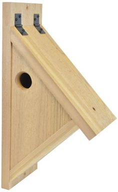 Backyard Boys Woodworking BBW76 Nuthatch Nest Box Backyard Boys Woodworking http://www.amazon.com/dp/B00931EPNK/ref=cm_sw_r_pi_dp_YbLTtb03FVW4RH6E