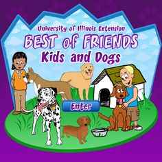 info about kids and dogs