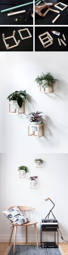 COLGANTE ORIGINAL PARA PLANTAS / http://www.craftifair.com #plantasdecoracion