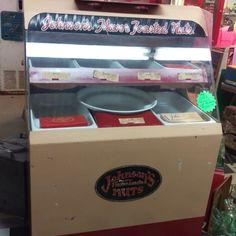 Vintage Johnson's Flavor Toasted Nut machine