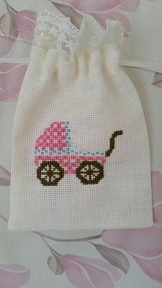 This Pin was discovered by şen Wool Embroidery, Cross Stitch Embroidery, Embroidery Patterns, Crochet Patterns, Cross Stitch Designs, Cross Stitch Patterns, Sewing To Sell, Lavender Bags, Cross Stitch Baby