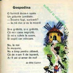 Gospodina, Otilia Cazimir Educational Activities For Kids, Infant Activities, Kindergarten Crafts, Preschool, Little Einsteins, Kids Poems, Vintage School, Math For Kids, Kids Education