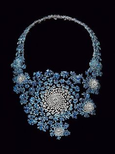 Marc Newson - Sapphires and Diamonds created using fractal images....see it at MAD
