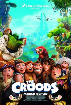 The Croods Movie DreamWorks 2013 Cartoon Film Poster Card & A Sheet Stickers Dreamworks Movies, Dreamworks Animation, Animation Movies, Kid Movies, Family Movies, Great Movies, Movie Tv, Best Cartoon Movies, Fantasy Movies