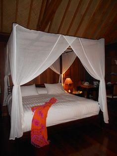 Hilton Hotel, Bora Bora.